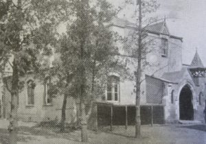 The buildings of Jeppe High School from 1902 - 1910, before the move to the present buildings in 1911